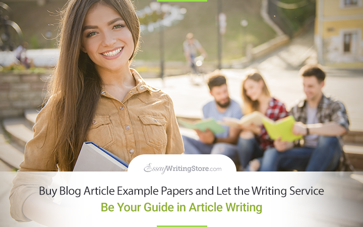 Buy Blog Article Example Papers