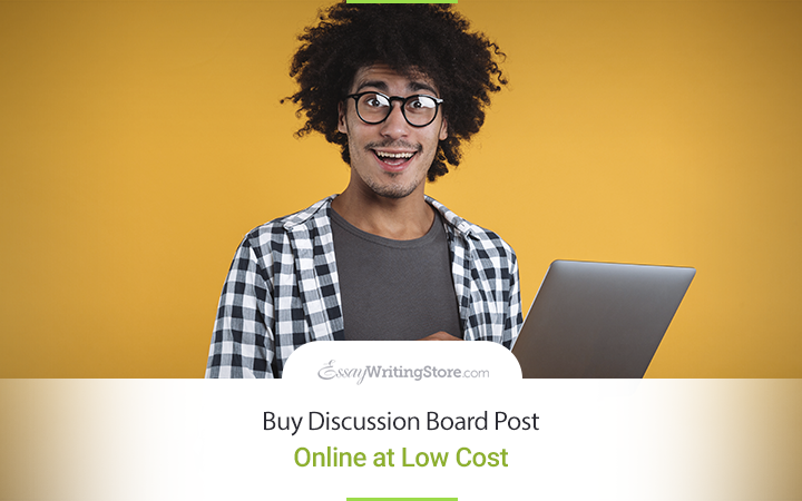 Buy Discussion Board Post Online