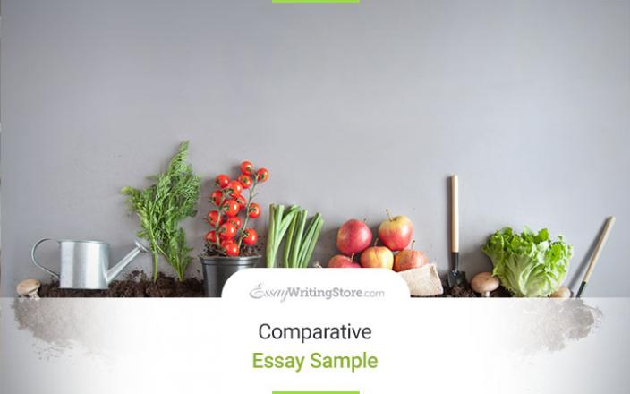 custom comparative essay sample   organic vs  inorganic foods