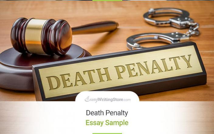 death penalty essay example
